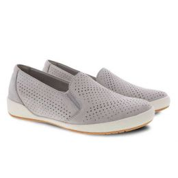 Dansko Cement Nubuck Odina Womens Comfort Shoes 4712-940300
