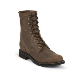 472 8in Justin Mens Work Boots