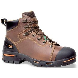 47591 Brown Endurance 6in Steel Toe Timberland Pro Mens Work Boots