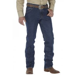 47MCVDS Deep Stone 5 Pocket Cowboy Cut Regular Fit Wrangler Mens Jeans