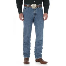 47MCVLS 5 Pocket Cowboy Cut Regular Fit Wrangler Mens Jeans