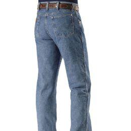 47MWZSW Stonewash Performance Cowboy Cut Wrangler Mens Jeans