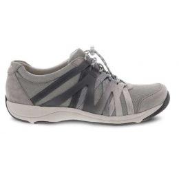 Dansko Grey Suede Henriette Womens Comfort Shoes 4852-941094