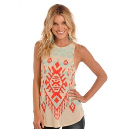 49-1155 Juniors A Line Loose Panhandle Slim Tank Shirt