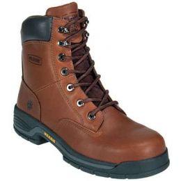 4905 Dark Brown Lace Up Steel Toe EH Mens Wolverine Work Boots