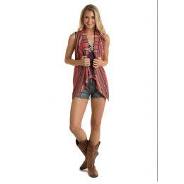 Panhandle Slim Rock & Roll Cowgirl Handkerchielf Hem Vest 49V5160-97