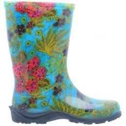 5002BL Midsummer Blue Ladies Rain Boots