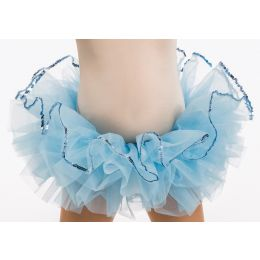 500T Child 3 Row Organdy Tutu Trimmed