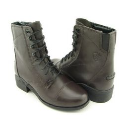 50161/50120 Med. Brown Children Paddock Boots
