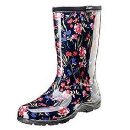 Sloggers Women's Fresh Cut Navy Garden Boot 5019FCT