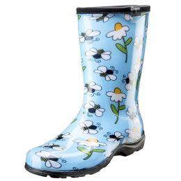 Sloggers Blue Bee Waterproof Womens Rain Boots 5020BEEBL