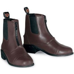 10001835/31851 Chocolate Devon II Riding Paddock Ariat Kids Boots