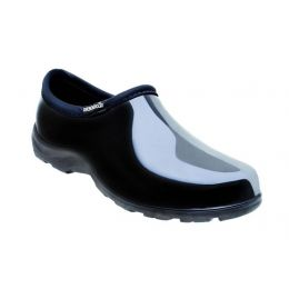 5100BK Black Comfort Ladies Rain Shoes