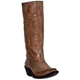 52023  Stovepipe w/Zipper Laredo Womens Western Cowboy Boots