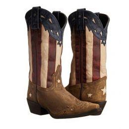 52165 Stars N Stripes Laredo Womens Western Boot