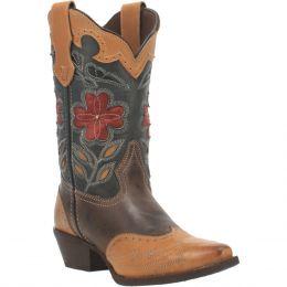 Laredo Janis Multi Colored Snip Toe Ladies Western Boot 52372