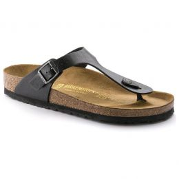 541951 Gizeh Graceful Licorice Birko-Flor Womens Comfort Birkenstock Sandals
