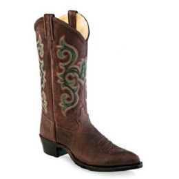 Abilene Brown Mens Old West Western Boot 5501