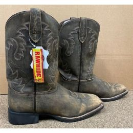 Rawhide by Abilene Men's Brown Pull-On Western Boots 5501