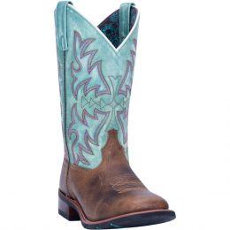 Laredo Brown with Turquoise Anita Women's Western Boot 5607