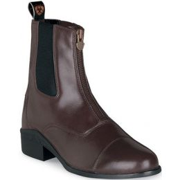 Chocolate Heritage II Zip English Riding Paddock Ariat Womens Boots