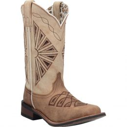 Dan Post Laredo Kite Days Womens Broad Square Toe Boots 5821