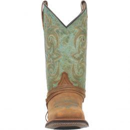 Laredo Tan with Turqouise Sadie Ladies' Boots 5847