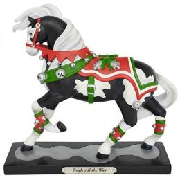 Enesco Multicolor Trail of Painted Ponies Jingle All The Way Figurine 6002724