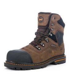 Hoss Range Men's Medium Brown Composite Toe Waterproof Work Boot 61110
