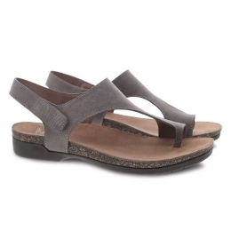 Dansko Reece Stone Waxy Burnished Womens Sandals 6024-795300
