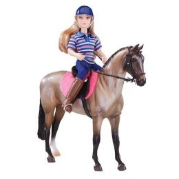 Breyer Classics English Horse and Rider Toy 61114