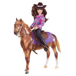 Breyer Classics Western Horse and Rider Toy 61116