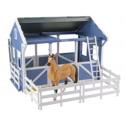 Breyer Deluxe Country Stable with Horse Wash Stall 61149