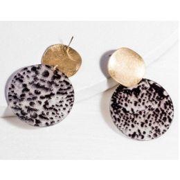Saachi by In Things Black Jungle Vibes Earrings 618616