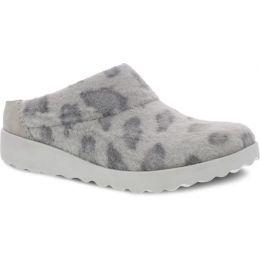 Dansko Grey Leopard Lucie Womens Mules 6420-913700