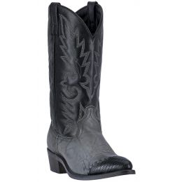 Dan Post Laredo Grey Marble/Black Flagstaff Mens J Snip Toe Western Boots 6782 **ONLINE ONLY**