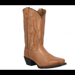 Laredo Tan Walnut Creek Square Toe Men's Western Boots 68336