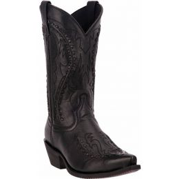68430 Black Goat Bucklace Laredo Mens Western Cowboy Boots