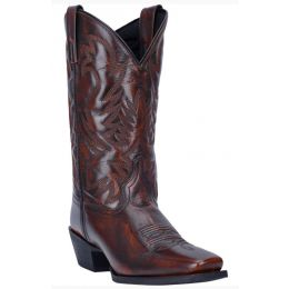 Dan Post Tan Lawton Mens Square Toe Western Boots 68444