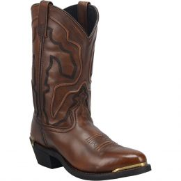 Dan Post Laredo Atlas Mens R Toe Western Boots 68624