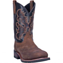Dan Post Laredo Rockwell Mens Square Steel Western Work Boots 69438