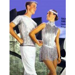 7023 Silver Tempest Shirt RECITAL COSTUMES AD