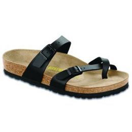 71791 Mayari Birko-Flor Black Comfort Birkenstock Ladies Sandals (R)
