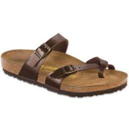 71941 Mayari Birko-Flor Toffee Comfort Birkenstock Ladies Sandals (R)
