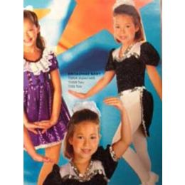 7305C Broadway Baby Tails RECITAL COSTUMES AD