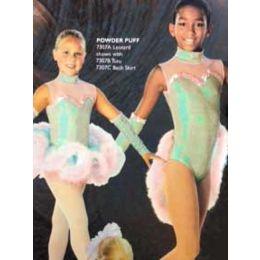 7307C Powder Puff Ballet Backskirt RECITAL COSTUMES AD
