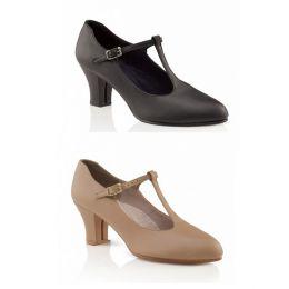 750 2in heel Adult Jr. Footlight T-strap Shoe