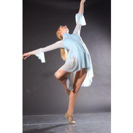 7537 Lt Blue FALLEN Dance Recital Costumes AD