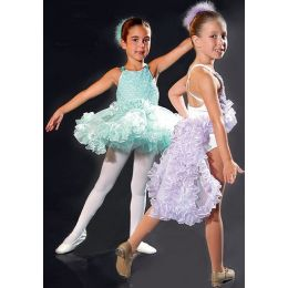 7550 Ruffles and Lace Leotard Dance Recital Costumes CH
