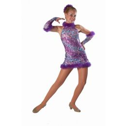 7615  I WANNA DANCE Dance Recital Costume AD